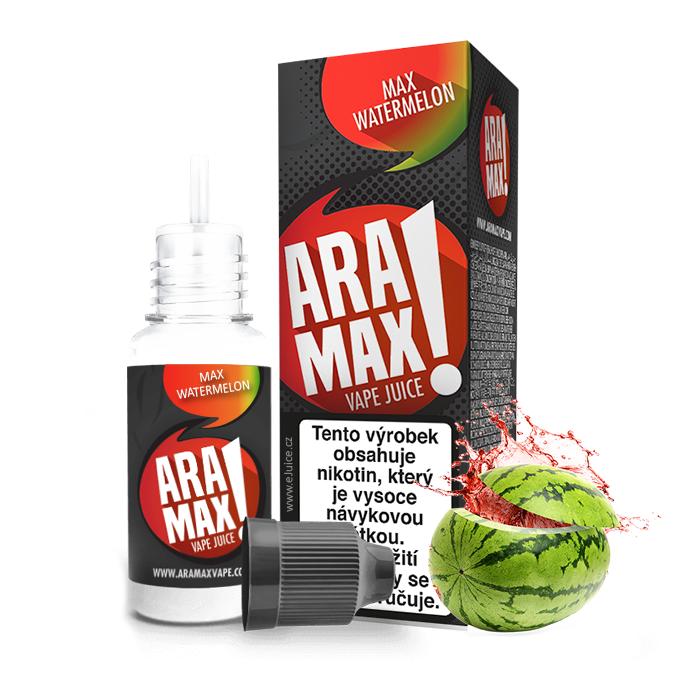 E-liquid Aramax 10ml / 18mg: Meloun vodní (Max Watermelon)