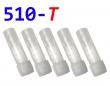 [!Doprodej] - Cartridge pro atomizéry 510-T (Bílé čiré) - KULATÉ