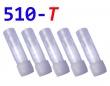 [!Doprodej] - Cartridge pro atomizéry 510-T (Modré čiré) - KULAT