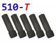 [!Doprodej] - Cartridge pro atomizéry 510-T (Černé čiré) - KULAT