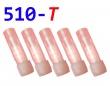 [!Doprodej] - Cartridge pro atomizéry 510-T (Červené) - KULATÉ