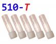 [!Doprodej] - Cartridge pro atomizéry 510-T (Růžové) - KULATÉ