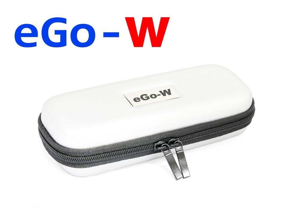 [!Doprodej] - Pouzdro pro elektronickou cigaretu (logo eGo-W) (Bílé)