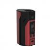 Elektronický grip: WISMEC Reuleaux RX200S TC (Černo-červená)