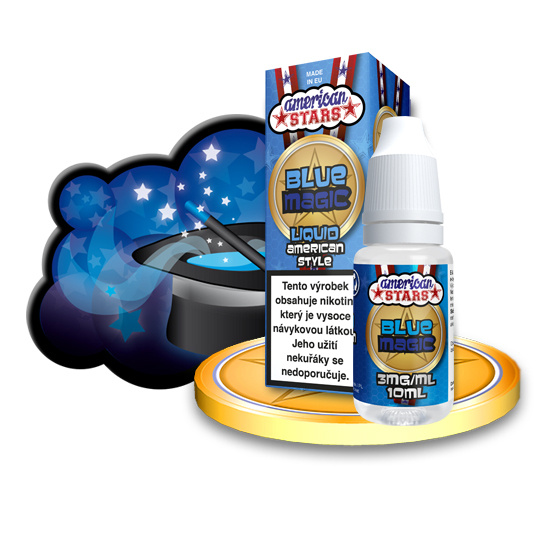 E-liquid American Stars 10ml / 3mg: Blue Magic