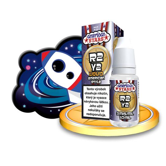 E-liquid American Stars 10ml / 3mg: R2Y2