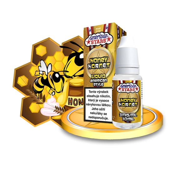 E-liquid American Stars 10ml / 3mg: Honey Hornet