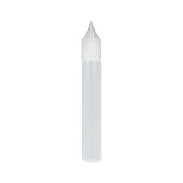 Úzká lahvička Unicorn s kapátkem - 15ml (Bílá)
