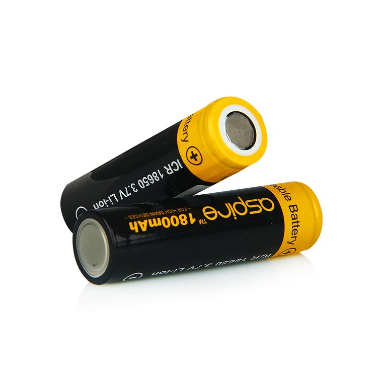 Baterie Aspire ICR 18650 / 40A (1800mAh)