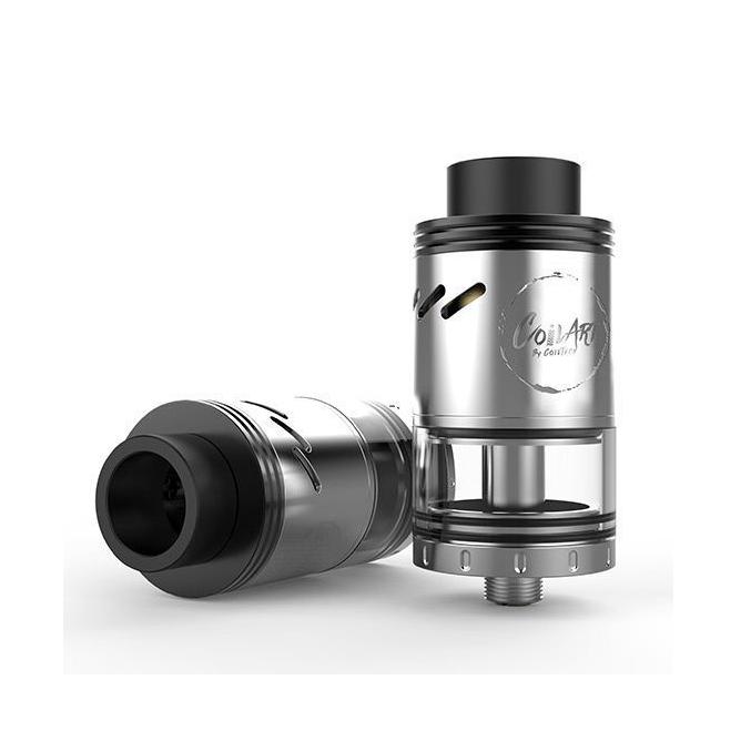 Clearomizér CoilArt Azeroth RDTA 4,0ml (Stříbrný)