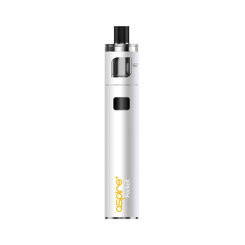 Elektronická cigareta: Aspire PockeX AIO (1500mAh) (Bílá)