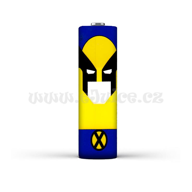 Smršťovací folie pro baterie 18650 s potiskem (Wolverine)