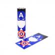 Smršťovací folie Avengers pro baterie 18650 (Captain America)