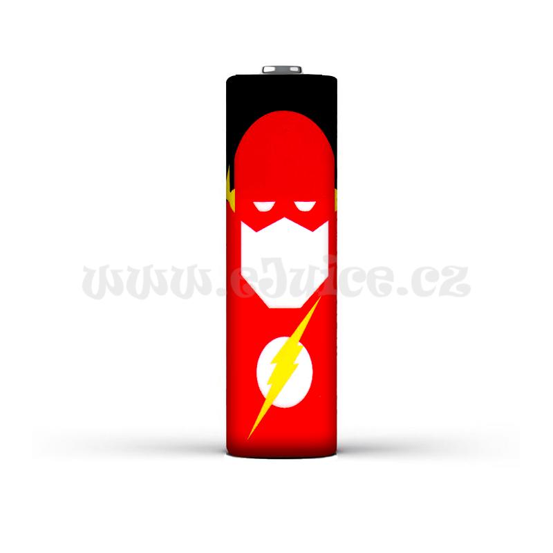 Smršťovací folie pro baterie 18650 s potiskem (The Flash)