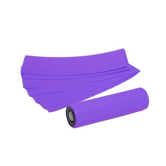 Smršťovací folie pro baterie 18650 (Fialová) (5ks)