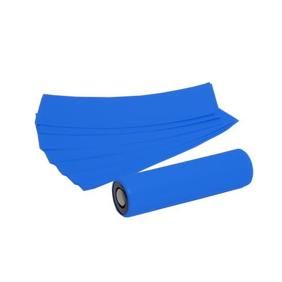 Smršťovací folie pro baterie 18650 (Modrá) (5ks)