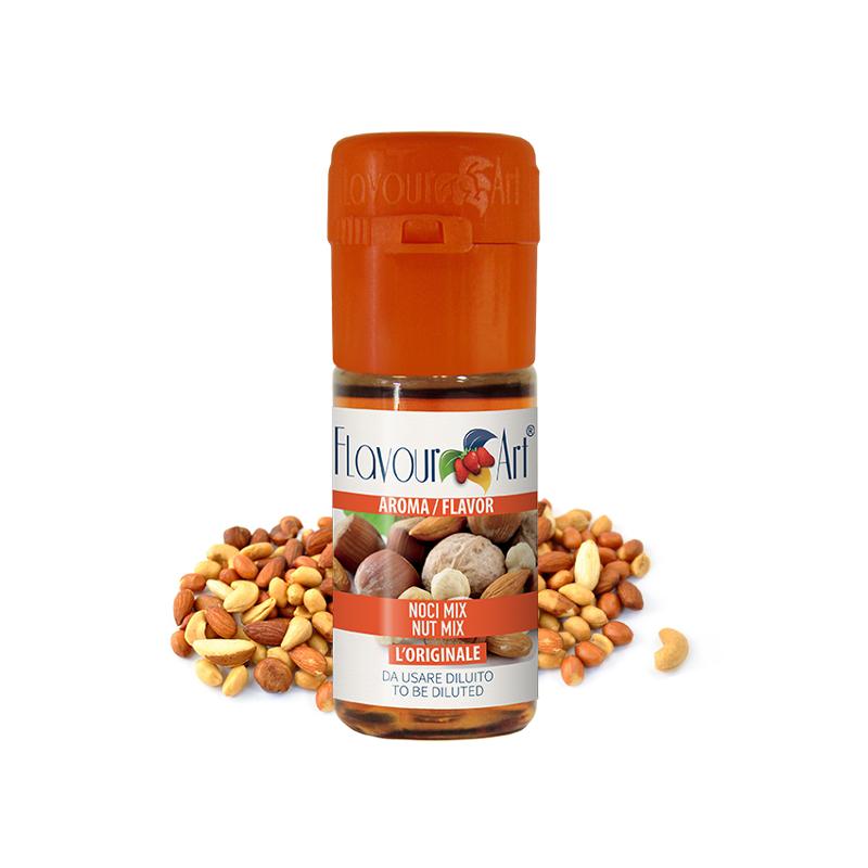 Příchuť FlavourArt: Směs ořechů (Nut Mix) 10ml