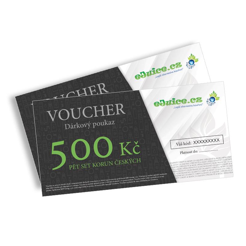 Elektronický dárkový poukaz / voucher na 500 Kč