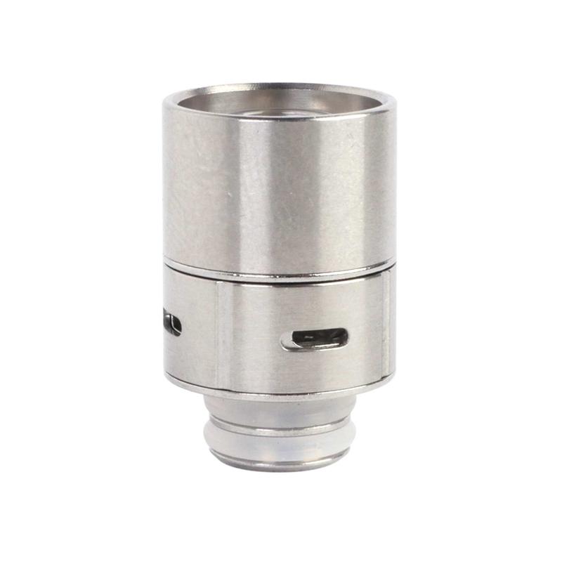 Nerezový náustek SMOK s regulací airflow (Stříbrný)