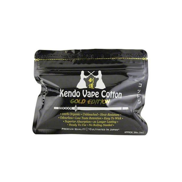 Přírodní japonská vata Kendo Vape Cotton - Gold Edition (1m)