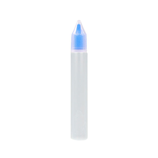 Úzká lahvička Unicorn s kapátkem - 15ml (Modrá)