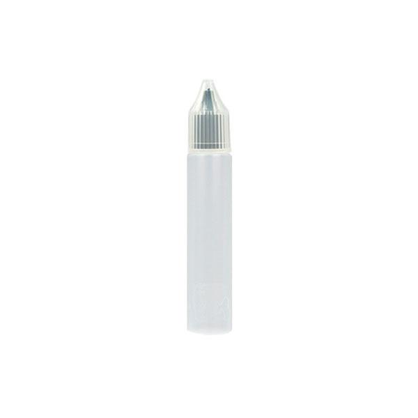 Úzká lahvička Unicorn s kapátkem - 10ml (Černá)