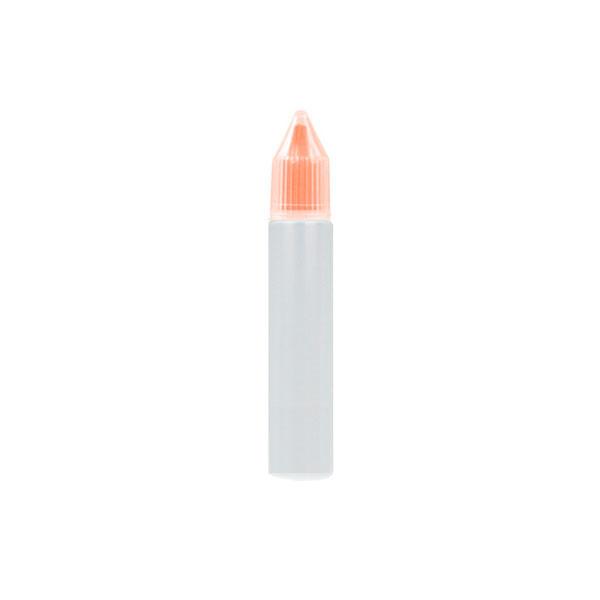 Úzká lahvička Unicorn s kapátkem - 10ml (Oranžová)