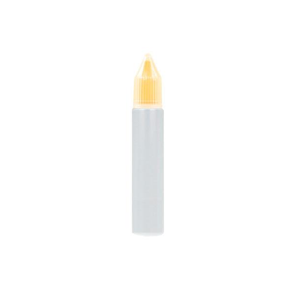 Úzká lahvička Unicorn s kapátkem - 10ml (Žlutá)