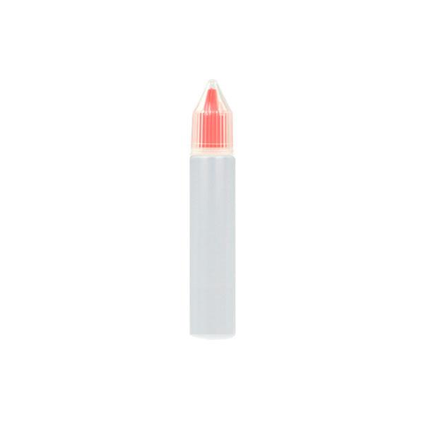Úzká lahvička Unicorn s kapátkem - 10ml (Červená)