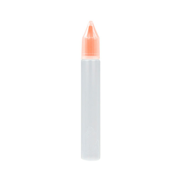 Úzká lahvička Unicorn s kapátkem - 15ml (Oranžová)