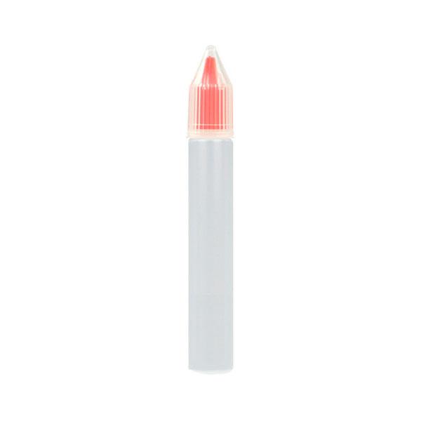 Úzká lahvička Unicorn s kapátkem - 15ml (Červená)
