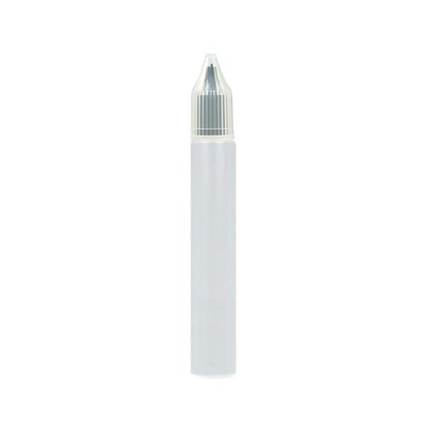 Úzká lahvička Unicorn s kapátkem - 15ml (Černá)