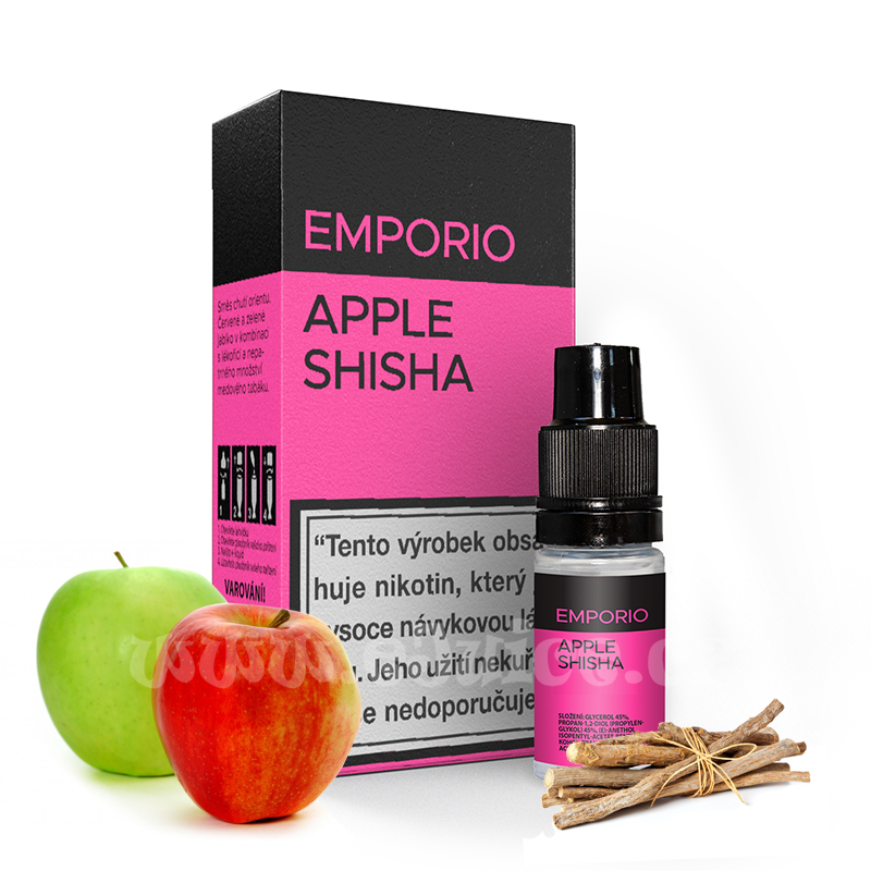 E-liquid Emporio 10ml / 1,5mg: Apple Shisha
