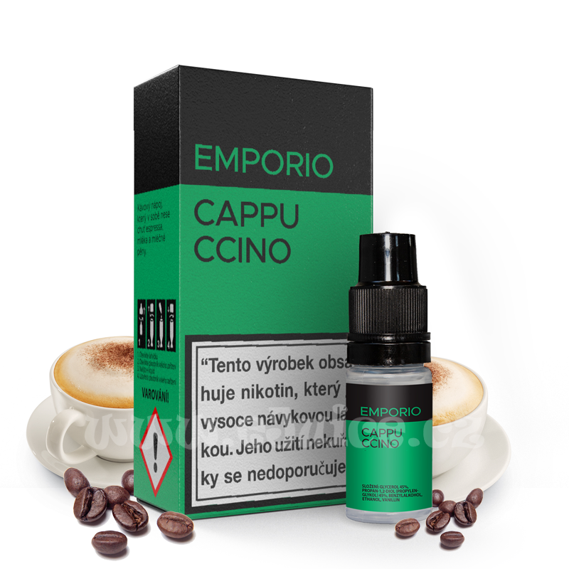 E-liquid Emporio 10ml / 6mg: Cappuccino