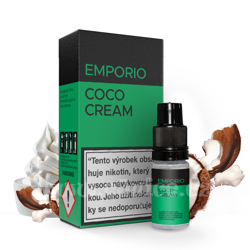 E-liquid Emporio 10ml / 9mg: Coco Cream