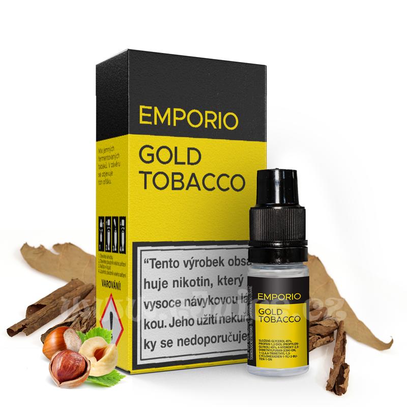 E-liquid Emporio 10ml / 9mg: Gold Tobacco