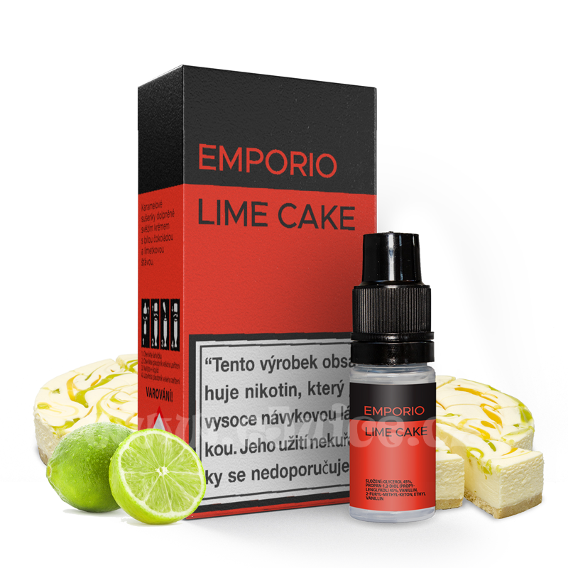 E-liquid Emporio 10ml / 9mg: Lime Cake