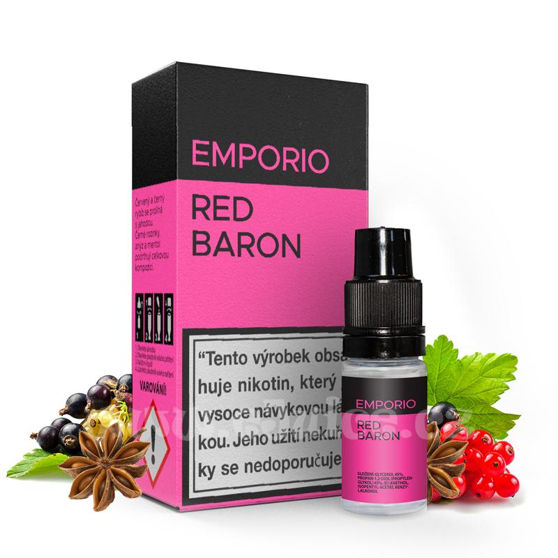 E-liquid Emporio 10ml / 9mg: Red Baron