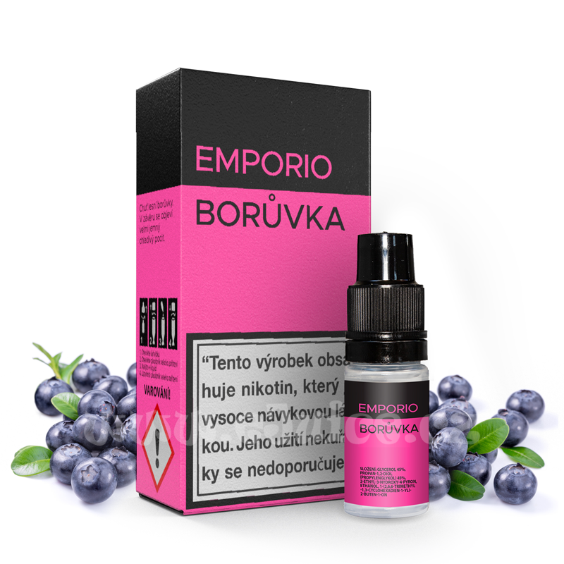 E-liquid Emporio 10ml / 18mg: Borůvka