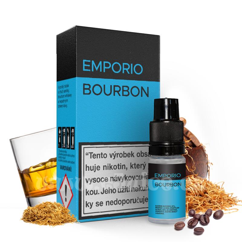 E-liquid Emporio 10ml / 18mg: Bourbon