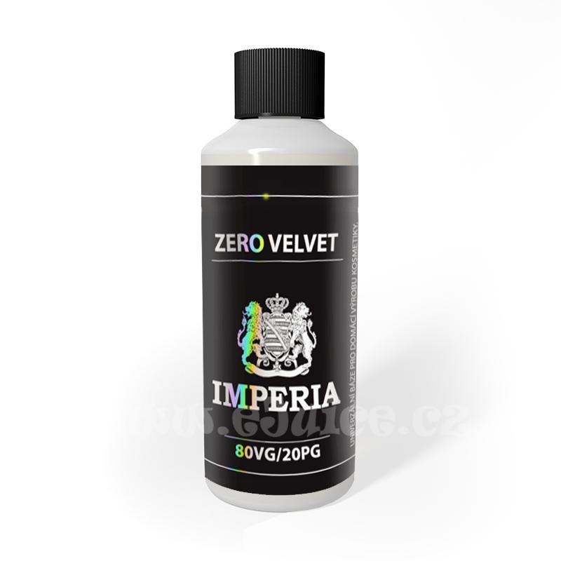 Beznikotinová báze Imperia Zero Velvet (20/80) 100ml