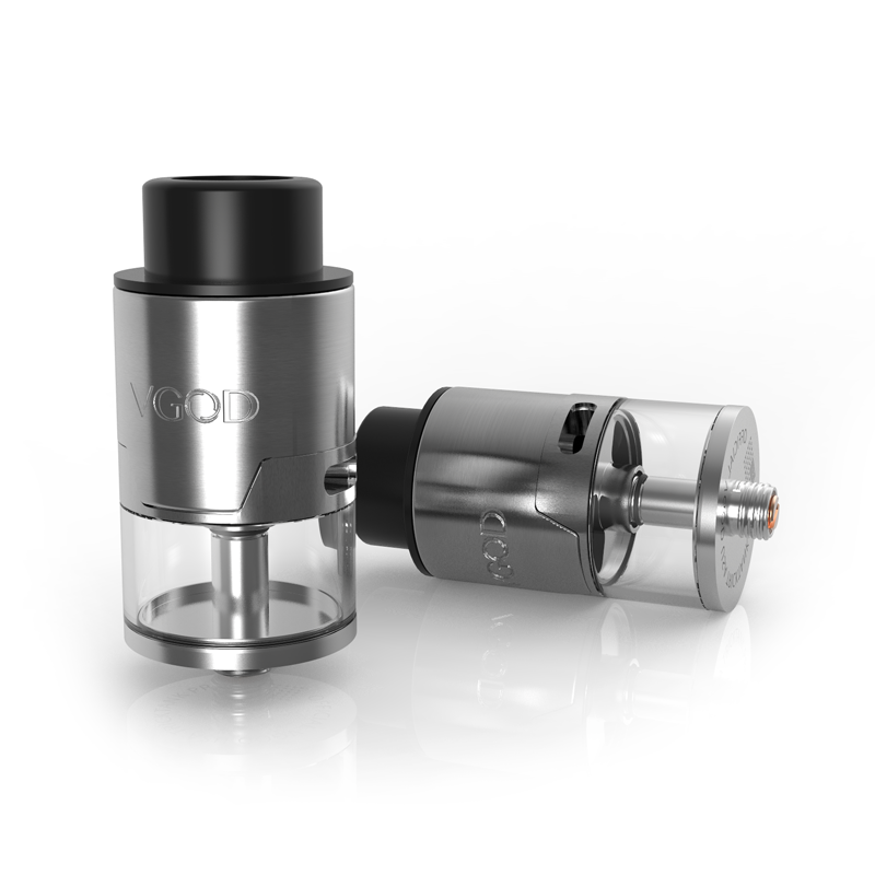 Clearomizér VGOD Tricktank Pro R2 RDTA 4ml (Stříbrný)