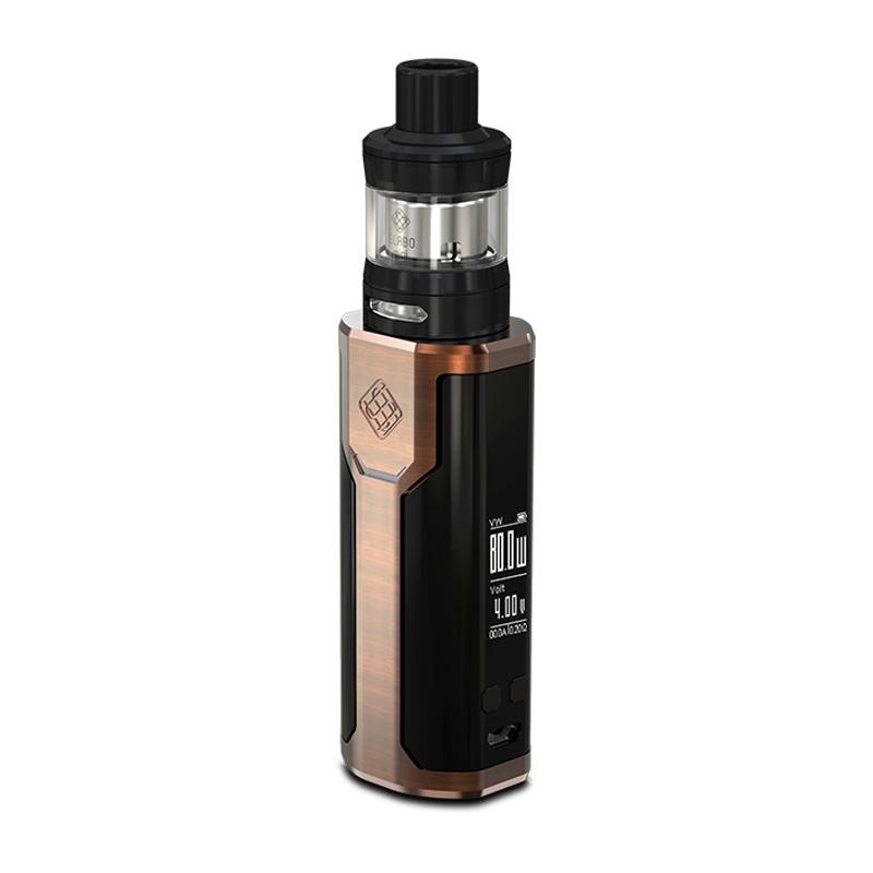 Elektronický grip: Wismec Sinuous P80 Kit s Elabo Mini (Bronzový)