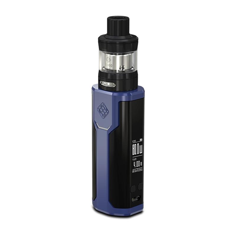 Elektronický grip: Wismec Sinuous P80 Kit s Elabo Mini (Modrý)
