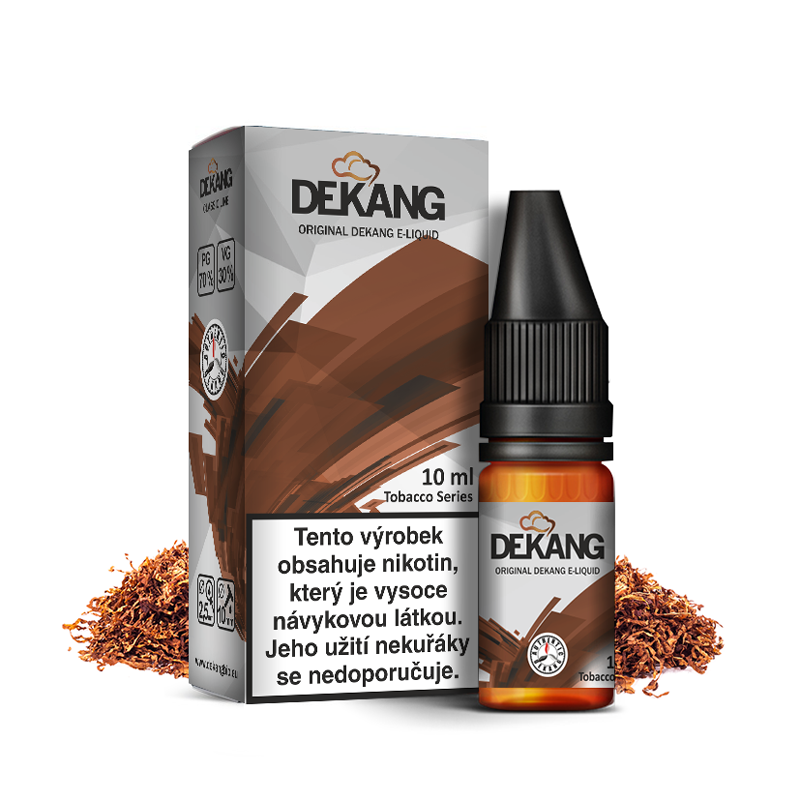 E-liquid Dekang Classic 10ml : VA Blend (Virginský tabák)