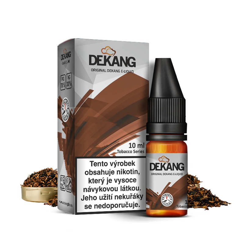 E-liquid Dekang Classic 10ml : Vegas Blend (Tabákový mix)