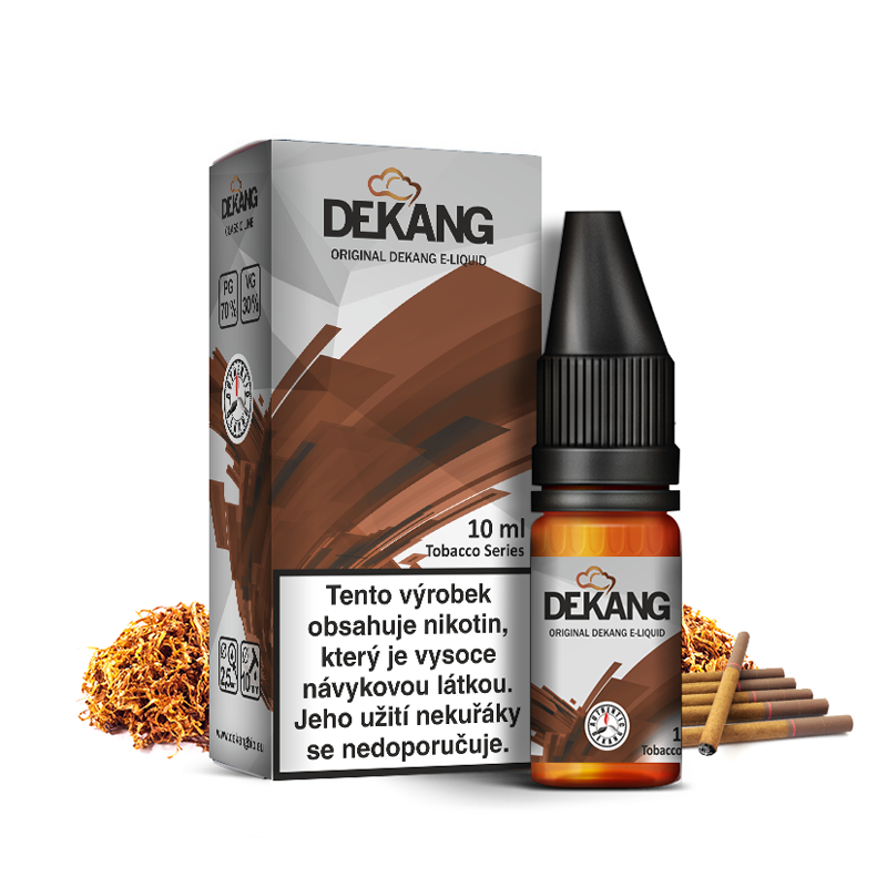 E-liquid Dekang Classic 10ml : USA Mix (Cigaretový tabák)