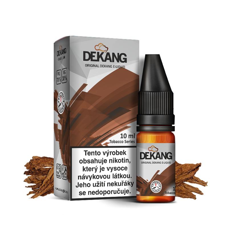 E-liquid Dekang Classic 10ml : Tabák (Tobacco)