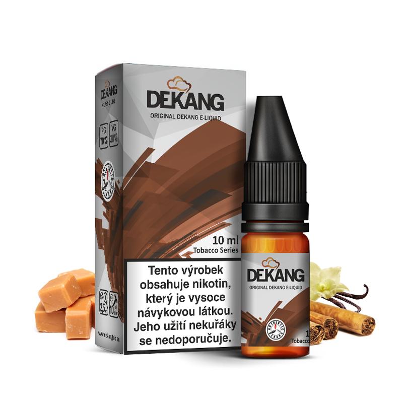 E-liquid Dekang Classic 10ml : DK-4 (Tabák s vanilkou a karamelem)