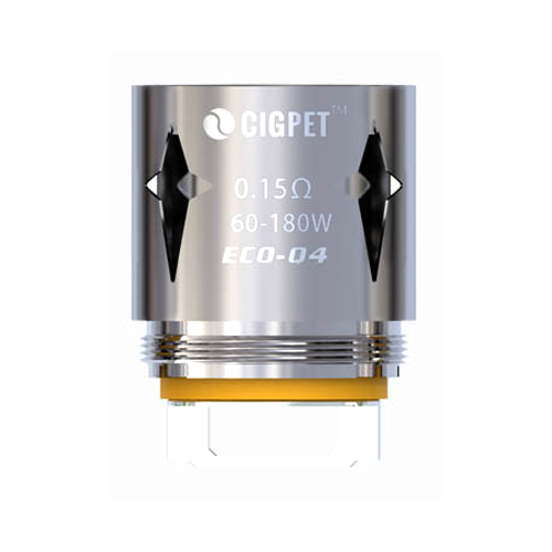 Žhavící tělísko CIGPET ECO-Q4 pro ECO12 (0,15ohm) (1ks)